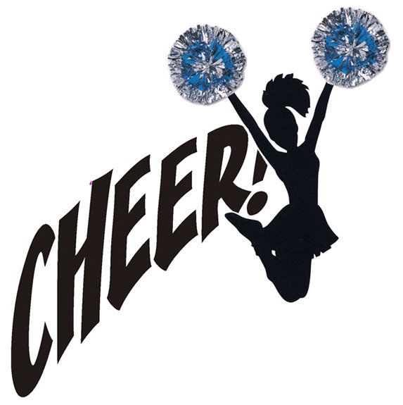 Cheer clipart clipart royalty free download Free Cheer Clipart Image - 12804, Cheerleading Silhouette Clip Art ... clipart royalty free download