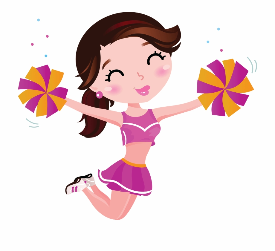 Cheer clipart clipart vector freeuse download Cheerleader Png Images Transparent Free Download - Cheerleader ... vector freeuse download