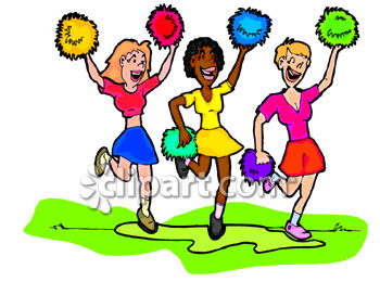 Cheer clipart clipart clip art royalty free stock Cheerleader Clipart Clipart - Clipart1001 - Free Cliparts clip art royalty free stock