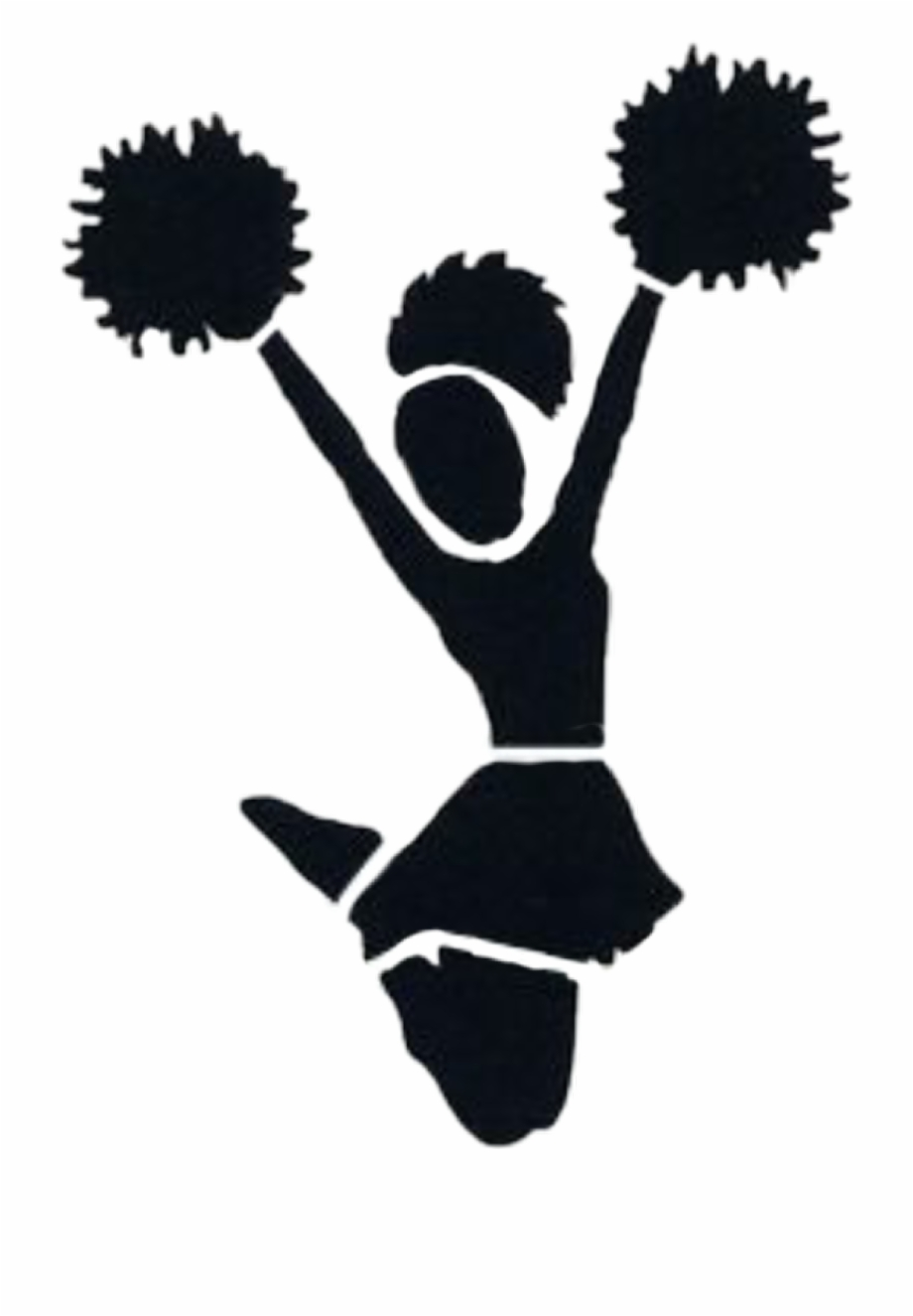 Cheer toe touch clipart freeuse Cheerleaders Sticker - Cheerleader Png Free PNG Images & Clipart ... freeuse