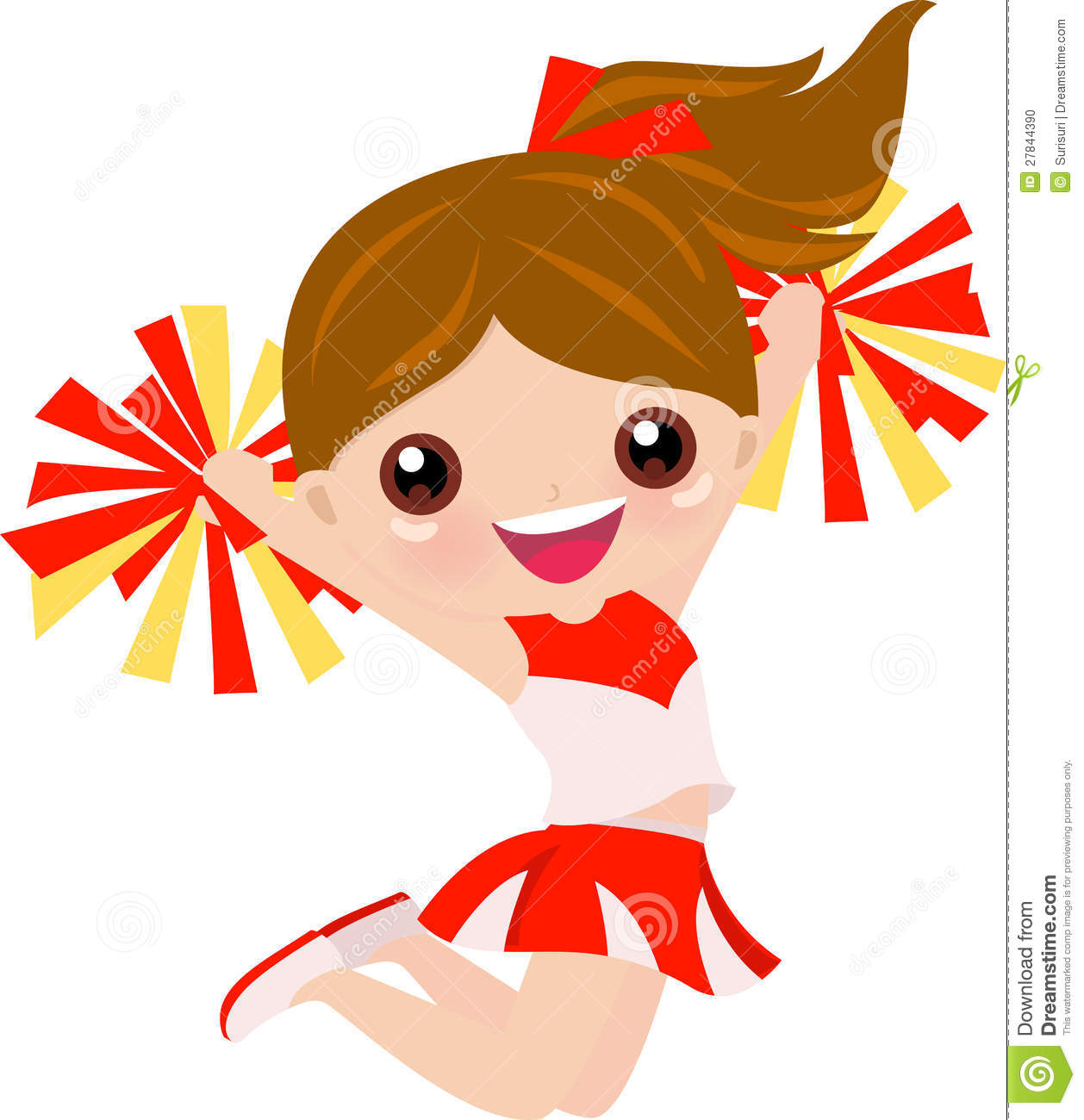 Cheerleader animated clipart black and white download Cartoon Cheerleading Images | Free download best Cartoon ... black and white download