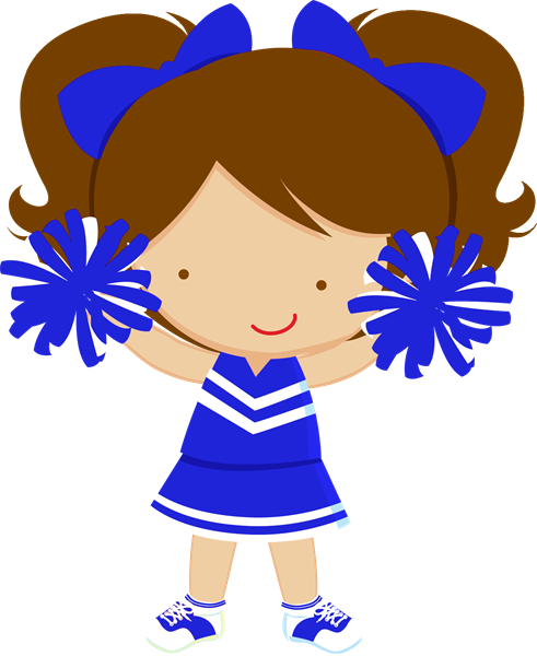 Cheerleader clipart images free stock Blue Cheerleader Cliparts Free Download Clip Art ClipartBarn ... stock