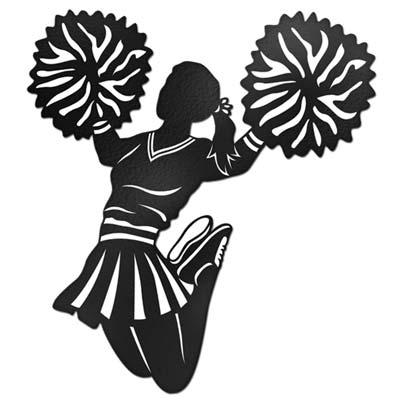 Cheerleader clipart silhouette jpg transparent stock Free Cheerleader Silhouette Images, Download Free Clip Art, Free ... jpg transparent stock