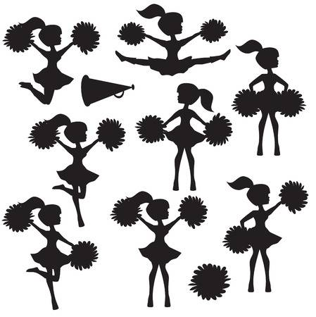 Cheerleader clipart silhouette royalty free download Cheerleader clipart silhouette 5 » Clipart Station royalty free download
