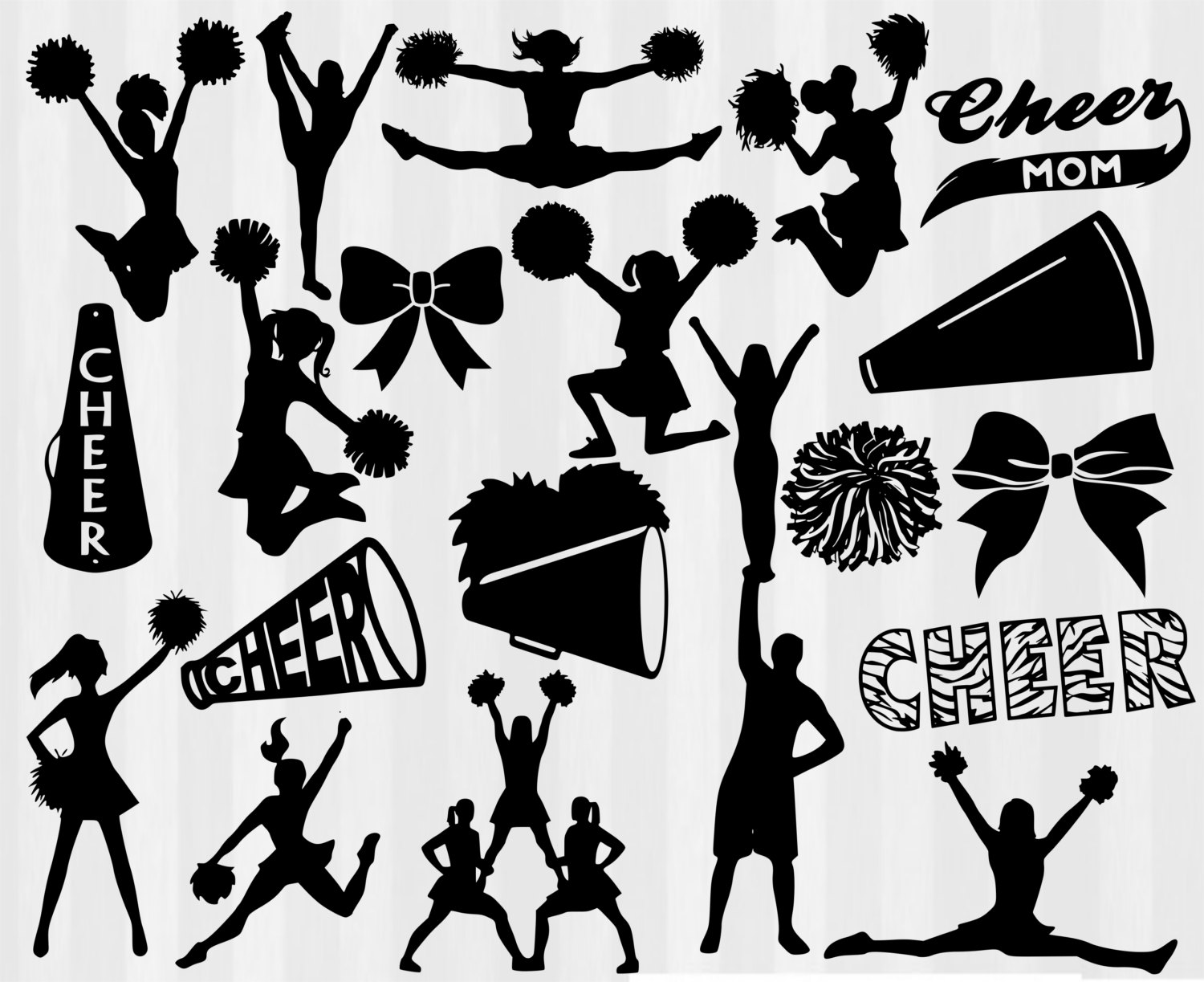 Cheerleader clipart svg clip stock Cheerleader clipart svg - ClipartFox clip stock