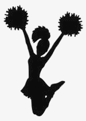 Cheerleader clipart transparent jpg black and white Download Free png Cheerleader PNG & Download Transparent Cheerleader ... jpg black and white