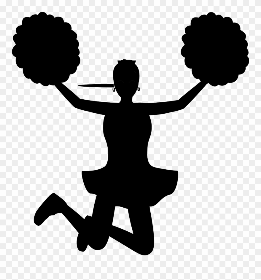 Cheerleader clipart transparent vector Cheer Images Free - Cheerleader Clip Art Transparent - Png Download ... vector