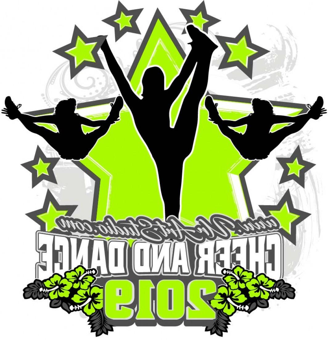 Cheerleader vector clipart jpg freeuse download Cheer And Dance Vector | Savoyuptown jpg freeuse download