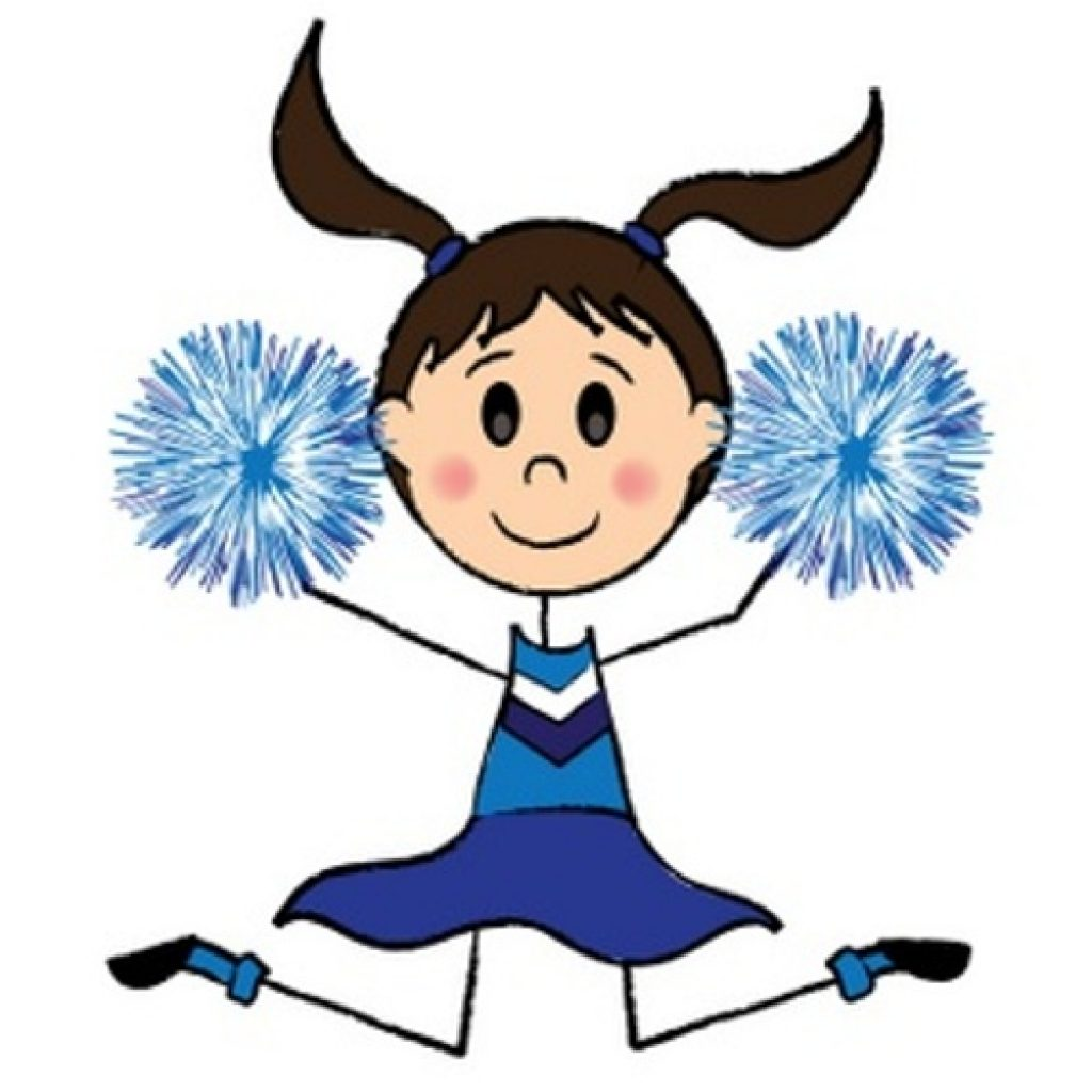 Free cheerleader clipart. Easy thanksgiving activity