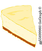 Cheesecake clipart free vector royalty free library Cheesecake Clip Art - Royalty Free - GoGraph vector royalty free library