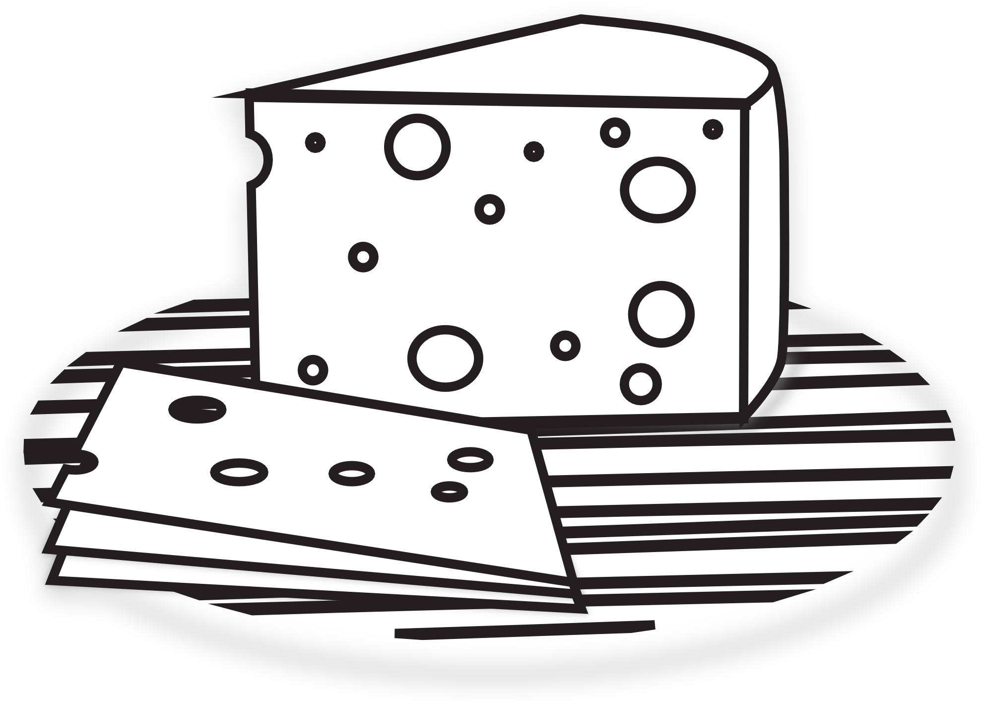 Cheese clipart black and white clip art freeuse library Wine And Cheese Clipart Black And White #138458 - PNG Images - PNGio clip art freeuse library