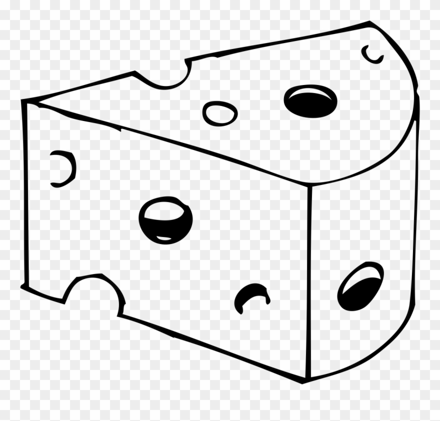 Cheese clipart black and white jpg royalty free Png Royalty Free Library Cheese Black And White Clipart - Desenho De ... jpg royalty free
