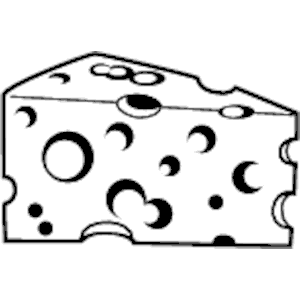 Cheese clipart black and white jpg library download Cheese clipart black and white » Clipart Station jpg library download