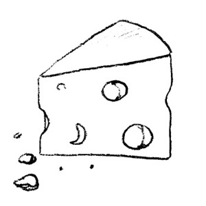 Cheese clipart black and white image black and white library Cheese clipart black and white free images - Cliparting.com image black and white library