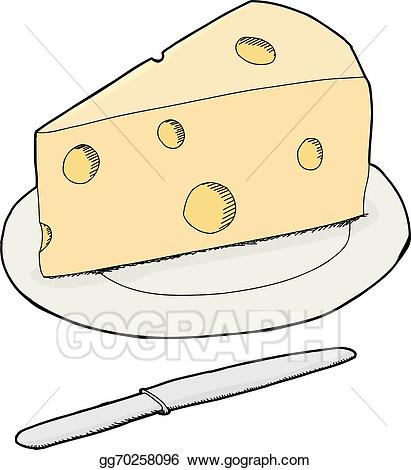 Cheese drawn isolated clipart clipart transparent Vector Art - Isolated swiss cheese. Clipart Drawing gg70258096 - GoGraph clipart transparent
