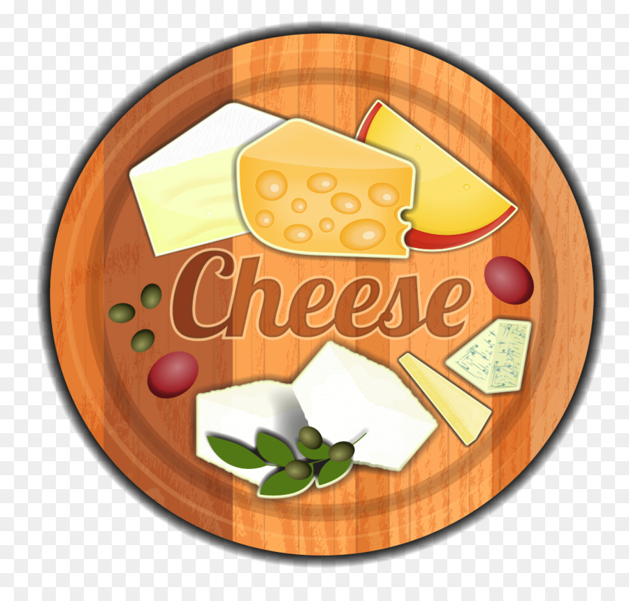 Cheese plater clipart svg royalty free Cheese Cartoon png download - 1090*1019 - Free Transparent Cheese ... svg royalty free