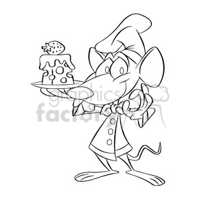 Cheese wheel for sale clipart black and white transparent library black and white cartoon mouse holding plate with cheese postre negro  clipart. Royalty-free clipart # 393915 transparent library