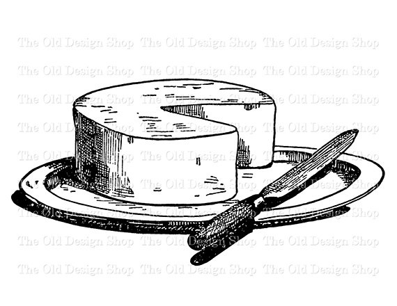 Cheese wheel for sale clipart black and white svg royalty free download Pin by Etsy on Products | Clip art, Knife drawing, Food illustrations svg royalty free download