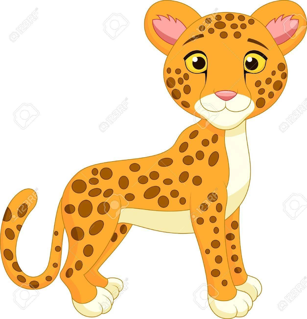 Cheetas clipart clip download Cartoon cheetah clipart 4 » Clipart Portal clip download