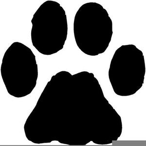 Cheetah paw print clipart jpg transparent download Cheetah Pawprint Clipart | Free Images at Clker.com - vector clip ... jpg transparent download