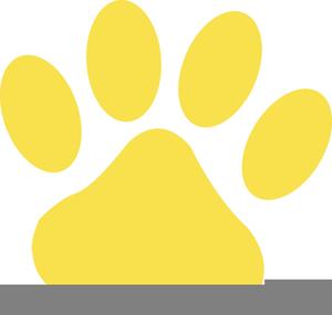 Cheetah paw print clipart banner black and white Clipart Cheetah Paw Print | Free Images at Clker.com - vector clip ... banner black and white
