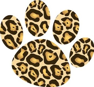 Cheetah paw print clipart clip art black and white 25+ Cheetah Print Clip Art | ClipartLook clip art black and white