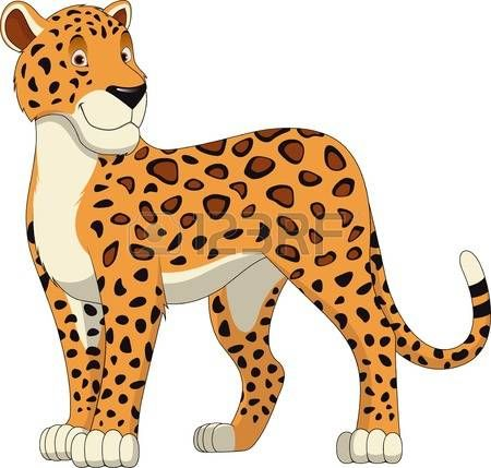 Cheetah reading a book clipart royalty free library Image result for clipart of cartoon cheetah | animal images for ... royalty free library