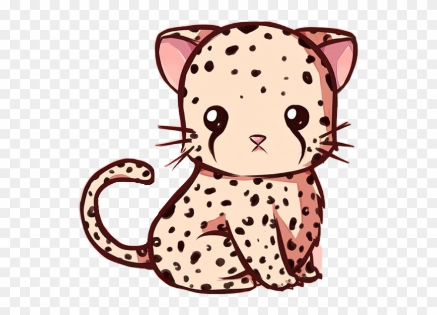 Cheetah reading a book clipart jpg transparent stock Cute Leopardo Cheetah Kawaii Animal Wild Fast Freetoedi - Graph ... jpg transparent stock