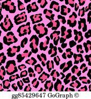 Cheetah spots clipart png library stock Cheetah Print Clip Art - Royalty Free - GoGraph png library stock