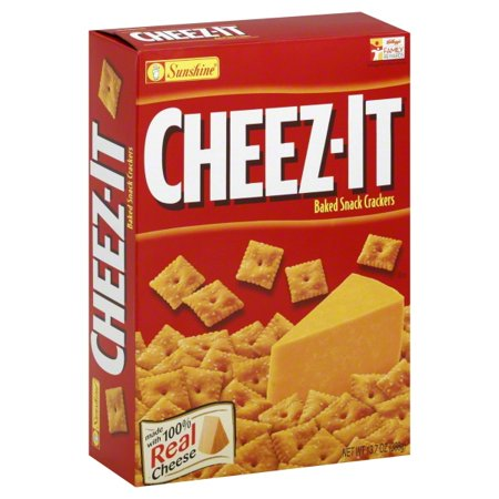 Cheezeits clipart clip transparent library Cheez It Baked Real Chease Snack Crackers, 13.7 Oz. clip transparent library