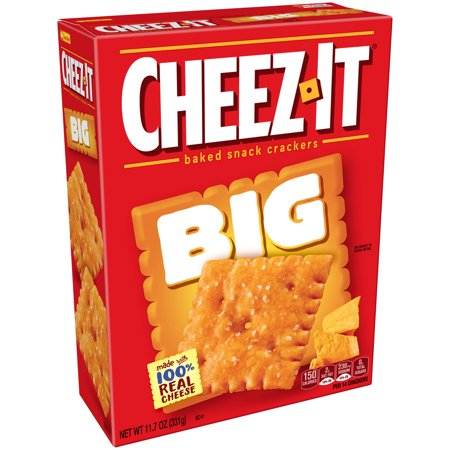 Cheezeits clipart royalty free download Cheez-It Big Baked Snack Crackers, 11.7 Oz. royalty free download