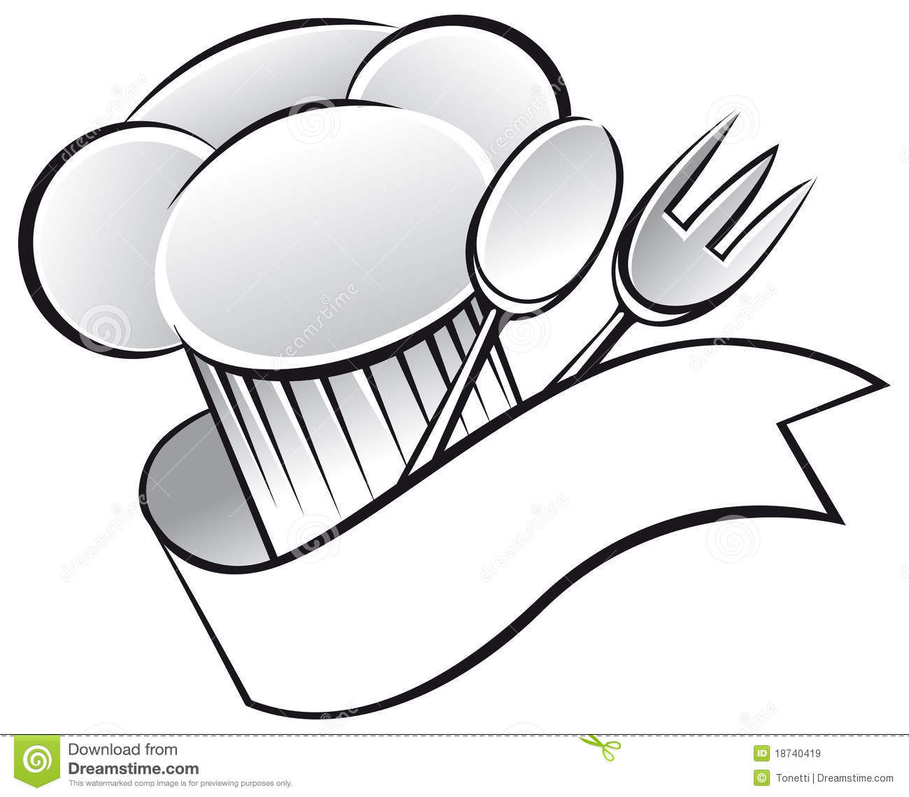 Chef background clipart png freeuse library Chef Hat Clip Art & Chef Hat Clip Art Clip Art Images - ClipartALL.com png freeuse library