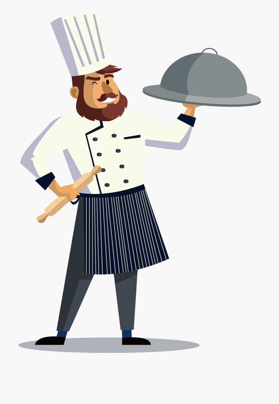 Chef cartoon free clipart vector transparent Cook Clipart Restaurant Chef - Job Hiring Assistant Chef ... vector transparent