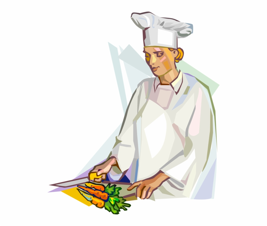 Chef chopping clipart vector stock Vector Illustration Of Culinary Cuisine Restaurant - Clipart Chef ... vector stock