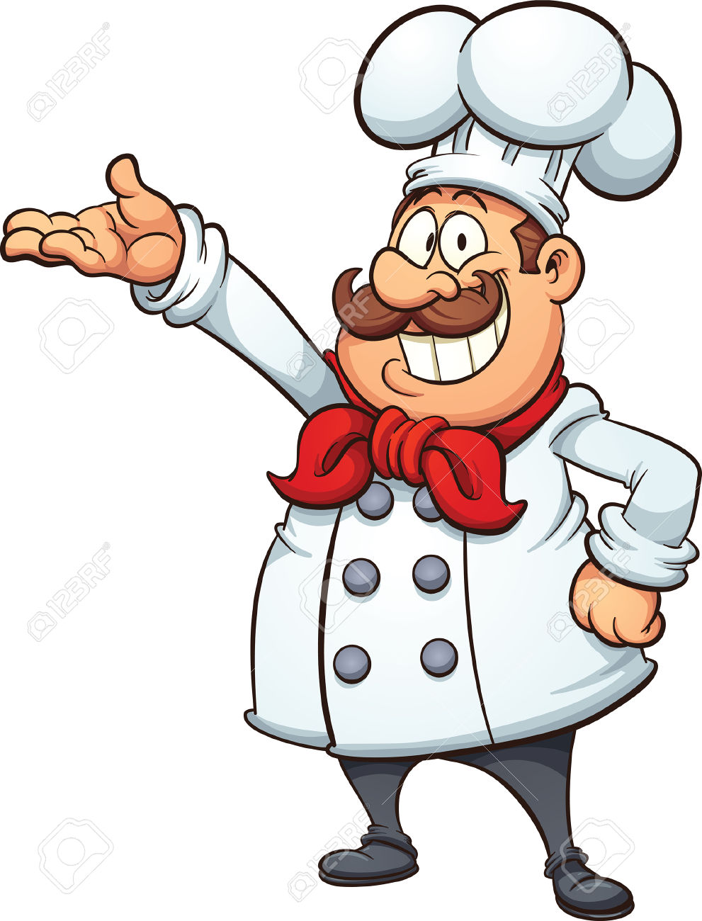 Chef clipart jpg black and white stock Chef clipart cartoon - ClipartFest jpg black and white stock