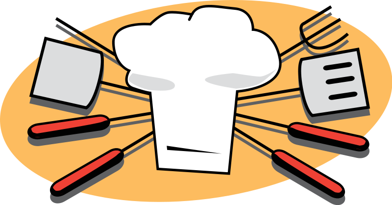 Animated chef tools clipart - ClipartFest graphic transparent