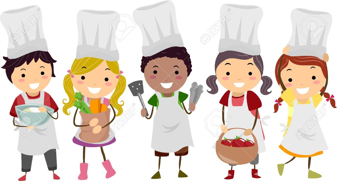 Chef clipart girl graphic freeuse stock 996 Girl In Chef Hat Stock Vector Illustration And Royalty Free ... graphic freeuse stock