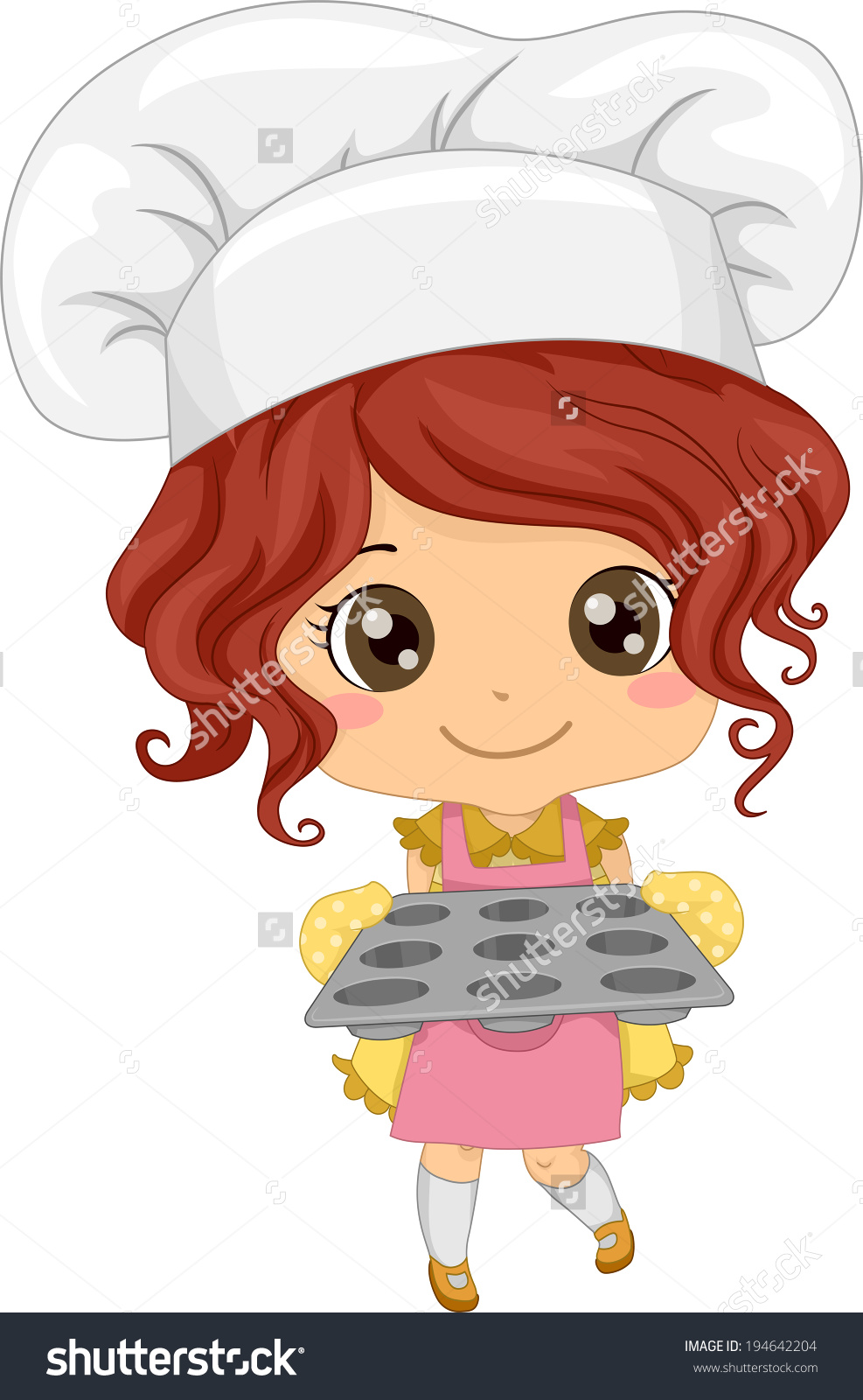 Chef clipart girl graphic royalty free library Little Girl Chef Clip Art – Clipart Free Download graphic royalty free library