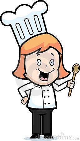 Chef clipart girl clip art library Chef clipart girl - ClipartFest clip art library