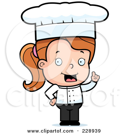 Chef clipart girl freeuse Chef clipart girl - ClipartFest freeuse