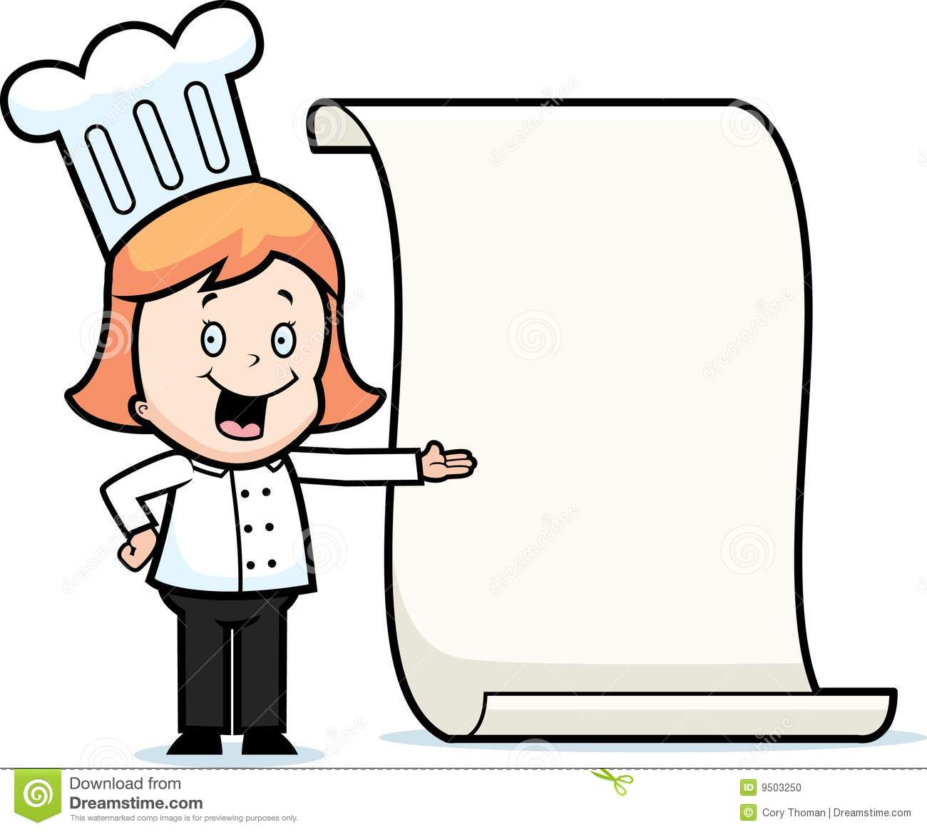 Chef clipart girl clipart stock Girl Chef Clipart - Clipart Kid clipart stock