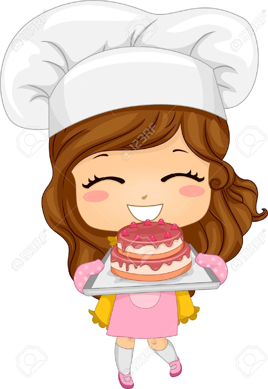 Chef clipart girl svg stock Girl chef clipart - ClipartFest svg stock