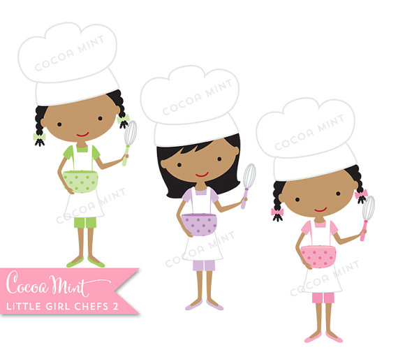 Chef clipart girl jpg free library Little Girl Chef Clipart - Clipart Kid jpg free library