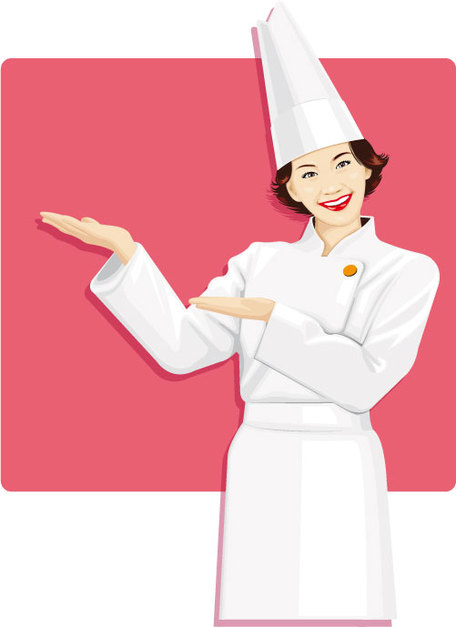 Chef clipart girl clip art library download Woman Chef Clip Art, Vector Woman Chef - 963 Graphics - Clipart.me clip art library download