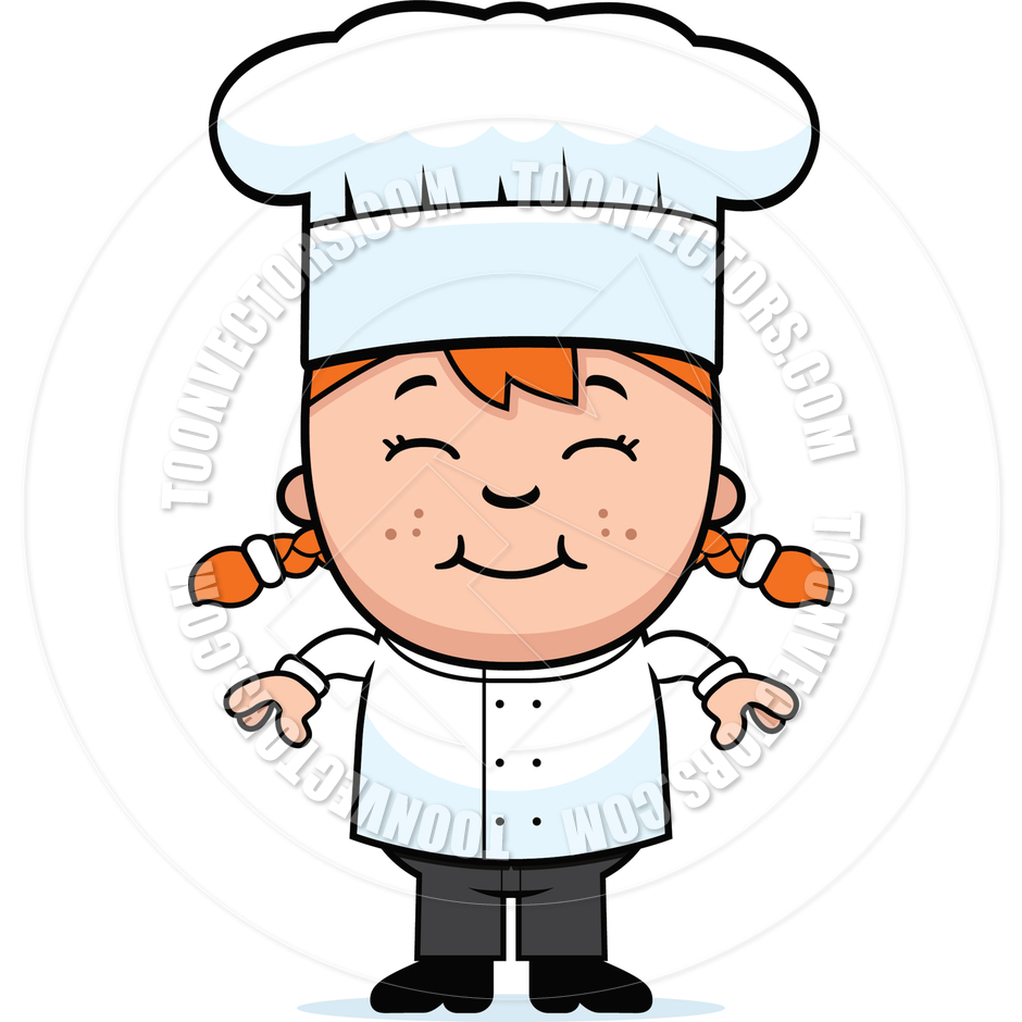 Chef clipart girl jpg freeuse Girl Chef Clipart - Clipart Kid jpg freeuse