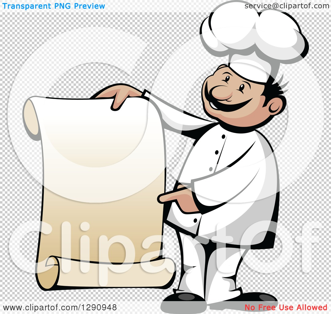 Chef clipart no watermark picture free stock Chef clipart pointing no watermark - ClipartFest picture free stock