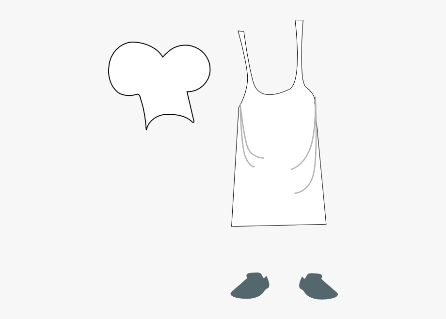 Chef hat and apron clipart vector royalty free Baker Hat And Apron Clipart #59969 - Free Cliparts on ClipartWiki vector royalty free