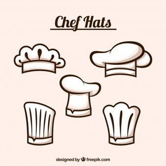 Chef hat free clipart clipart black and white download Chef Hat Vectors, Photos and PSD files | Free Download clipart black and white download