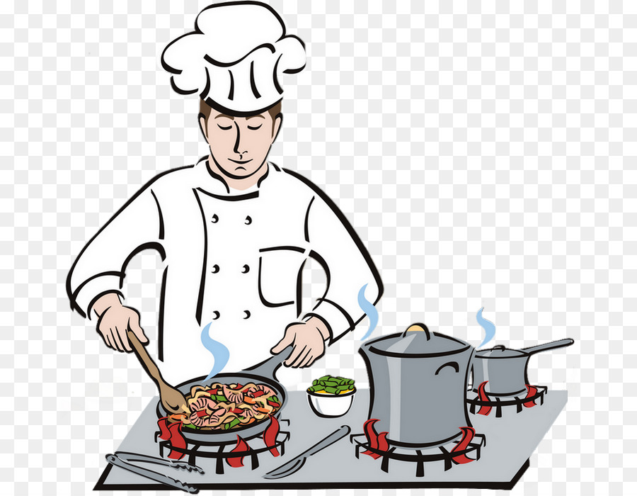 Chef kitchen clipart banner transparent stock Chef Cartoon png download - 730*700 - Free Transparent Chef png ... banner transparent stock