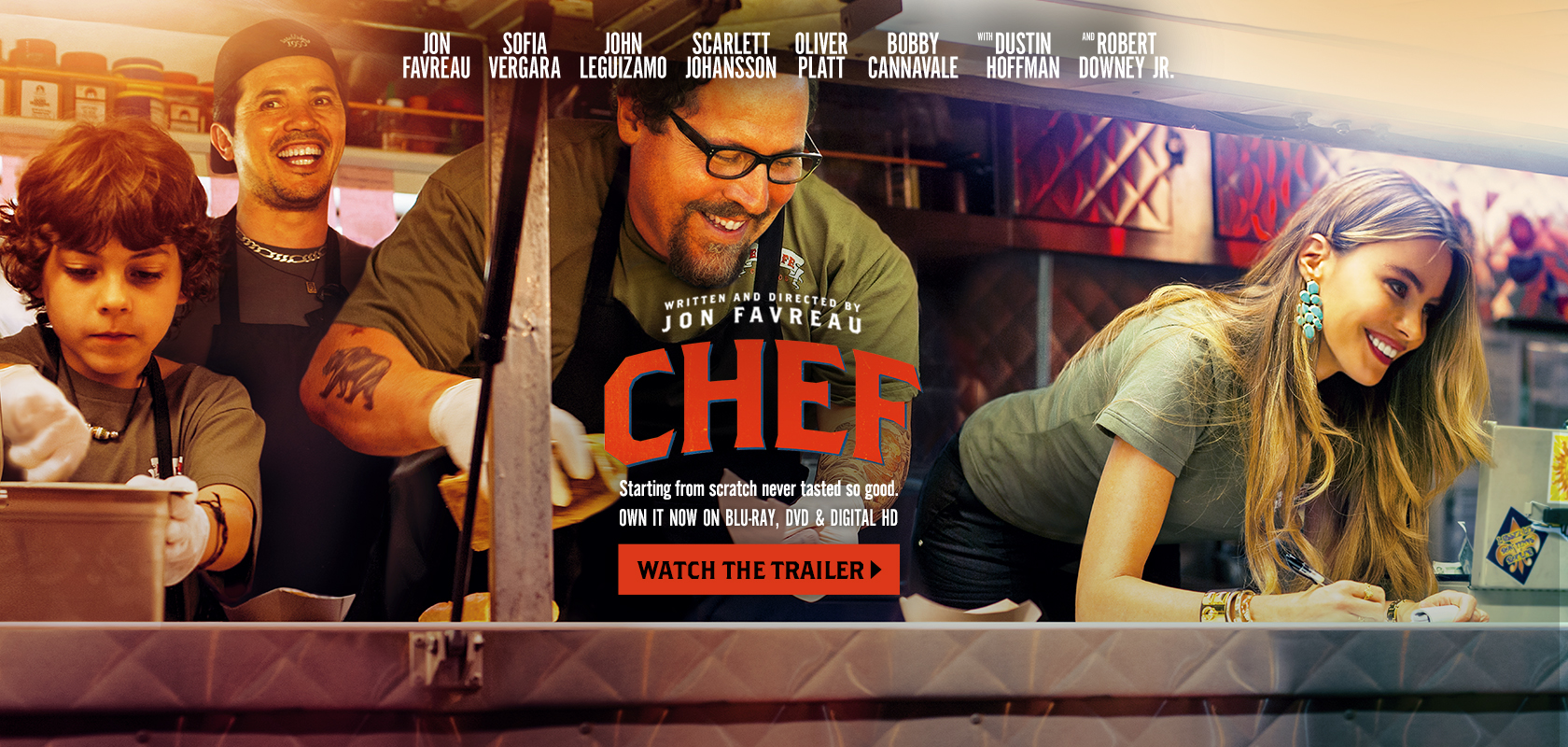 Chef movie banner royalty free library ChefMovie banner royalty free library